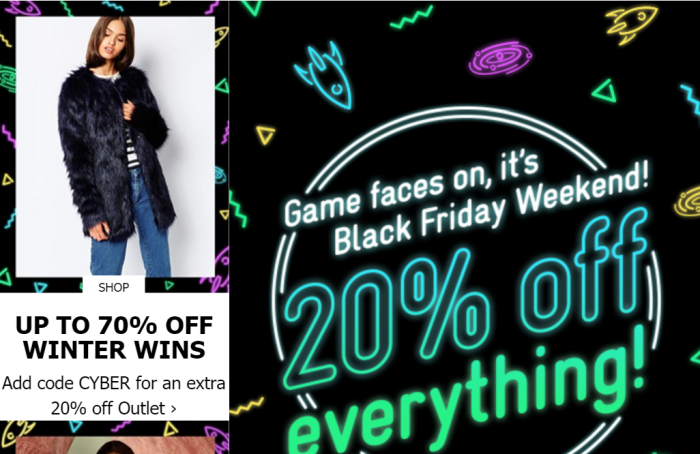asos black friday 2