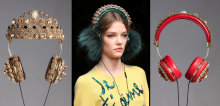 Dolce & Gabbana headphones/Wearable technology