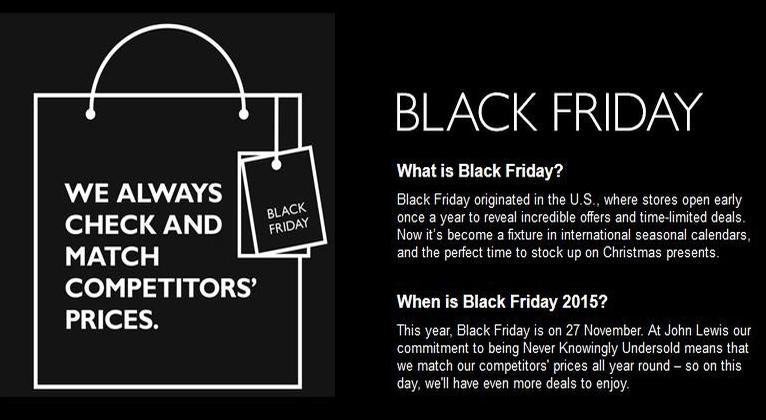 Black Friday John Lewis Blinks First Or Does It Trendwalk Net