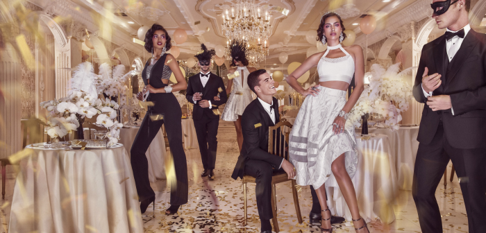The Holiday 2015 Soiree de Luxe campaign