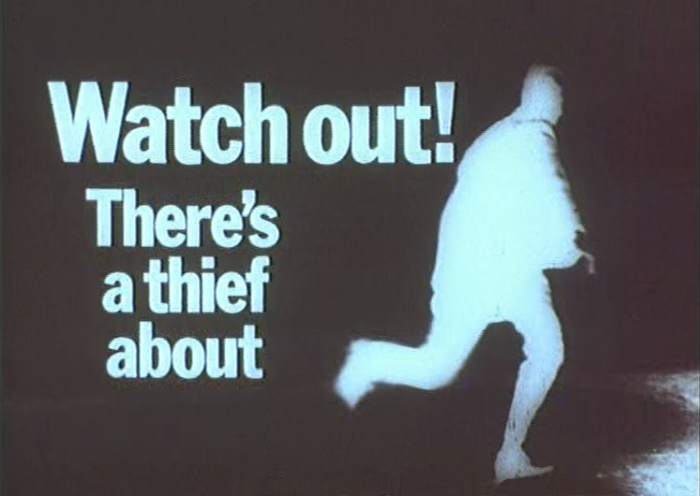 watch out there's a thief about