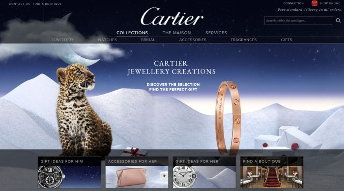 cartier website
