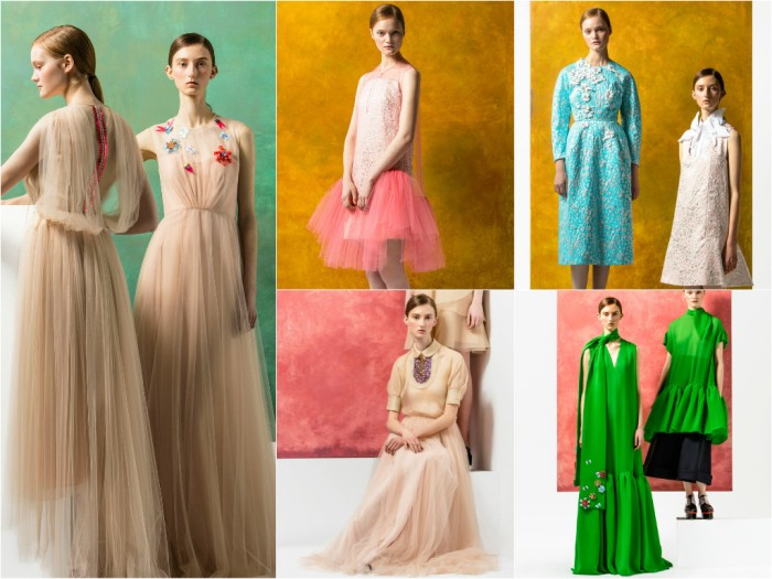 Delpozo dresses board