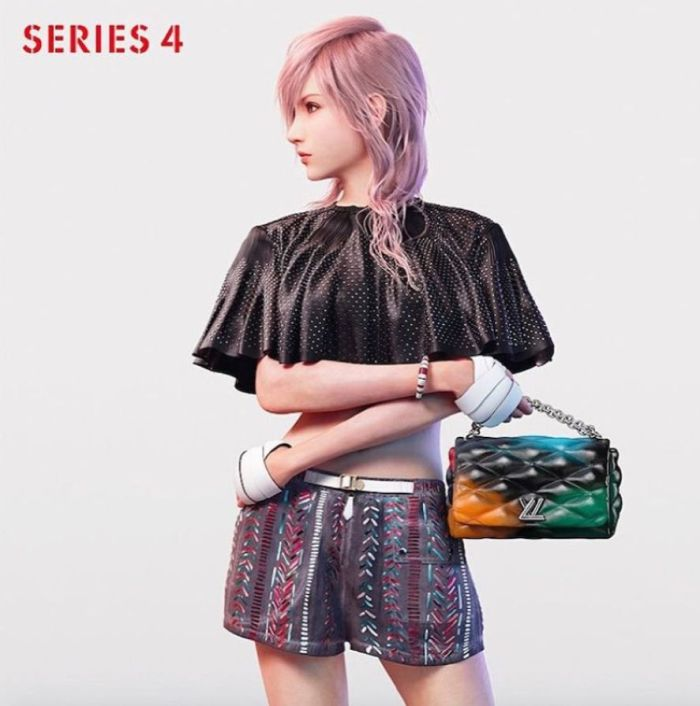 louis vuitton final fantasy ss16 campaign 1
