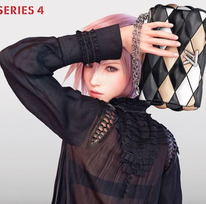 louis vuitton final fantasy ss16 campaign 2