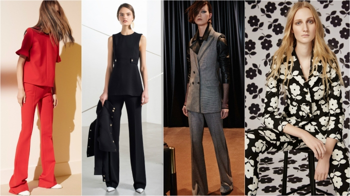 non-traditional pantsuit board