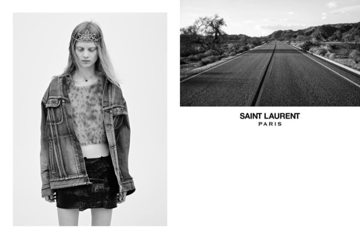 saint laurent SS16 ads 3