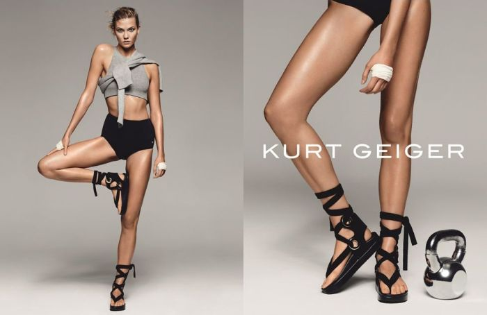 Karlie Kloss for Kurt Geiger SS16 1