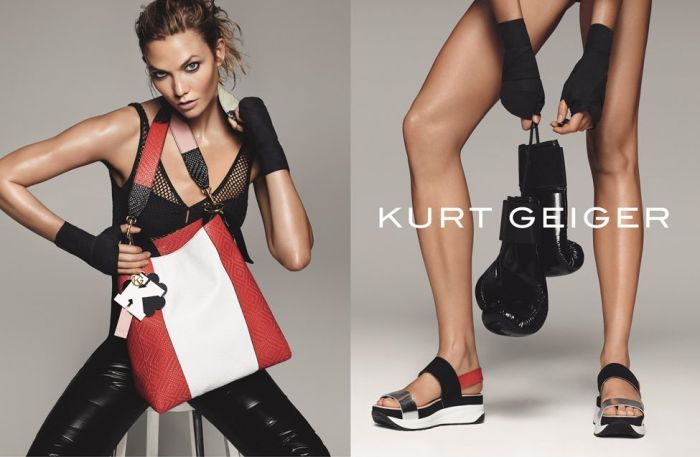 Karlie Kloss for Kurt Geiger SS16 3