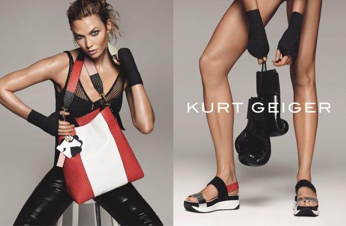Karlie Kloss for Kurt Geiger SS16 3