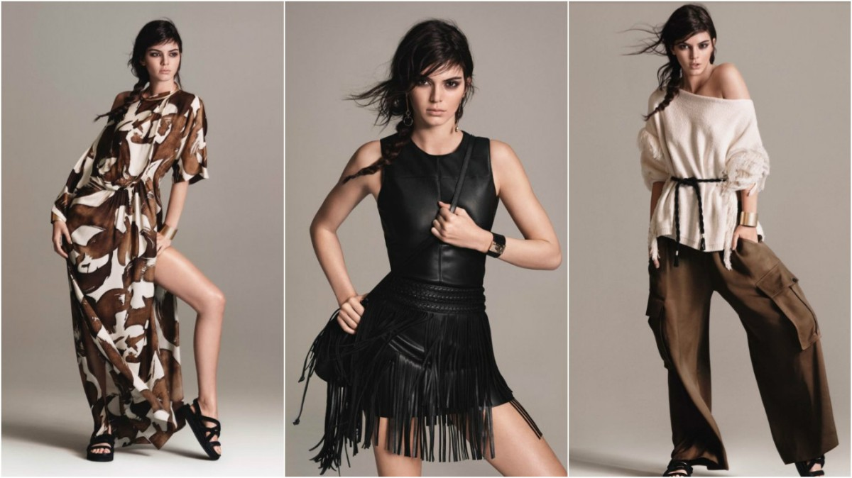Kendall Jenner for Mango: All the pictures