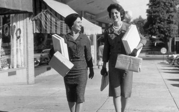 US shoppers 1950sb
