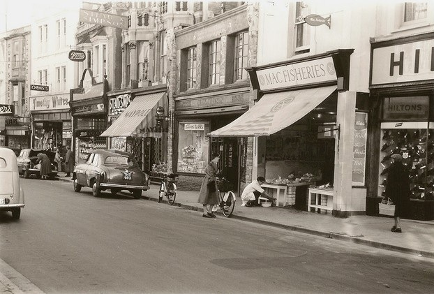 Weston-s-Mare High Street