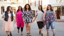 JC Penney's Boutique+ plus size collection