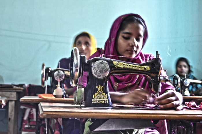 Garment manufcaturing in Bangladesh, picture courtesy Wikipedia