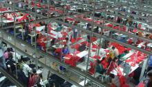Bangladesh garment factory, picture courtesy Wikipedia