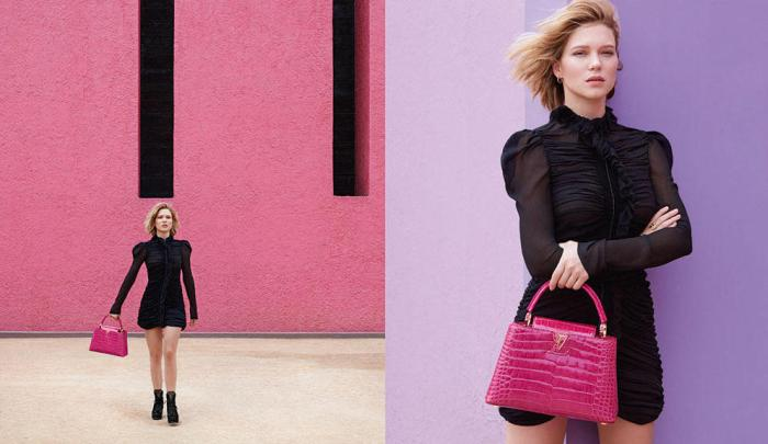 Lea Seydoux for Louis Vuitton Spirit of Travel 2016