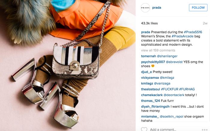 Prada Instagram