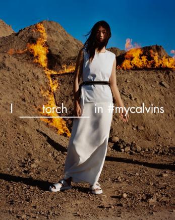 Calvin Klein Platinum ad campaign SS16