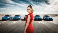 Gigi Hadid for BMW SS16