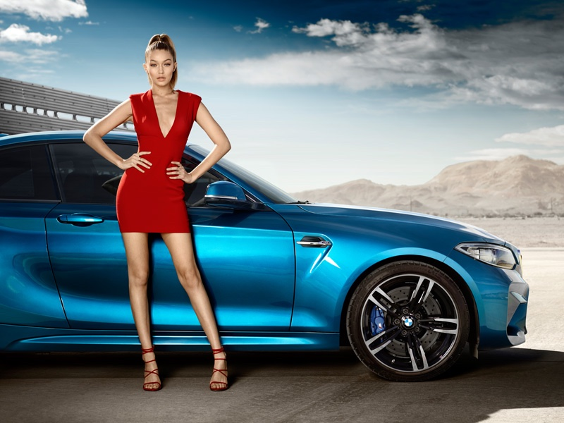 Gigi Hadid for BMW 2016