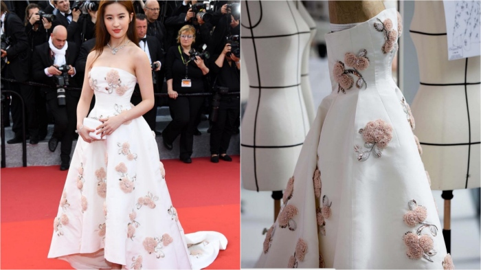 Cannes Film Festival 2016: Liu Yifei in Dior