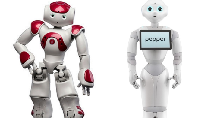 Nao and Pepper
