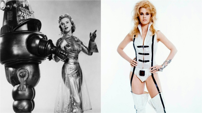 'Futuristic' fashion - Forbidden Planet and Barbarella