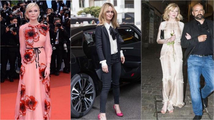 Cannes Film Festival 2016: Kirsten Dunst in Gucci, Vanessa Paradis, Kirsten Dunst in Aouadi Paris