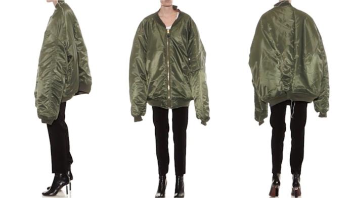 Vetements jacket at Matchesfashion.com