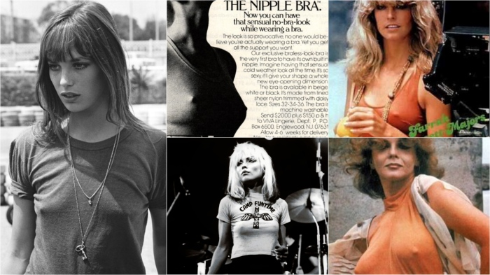 By the 70s, if you couldn't go braless, you bought a bra that made you look like you could