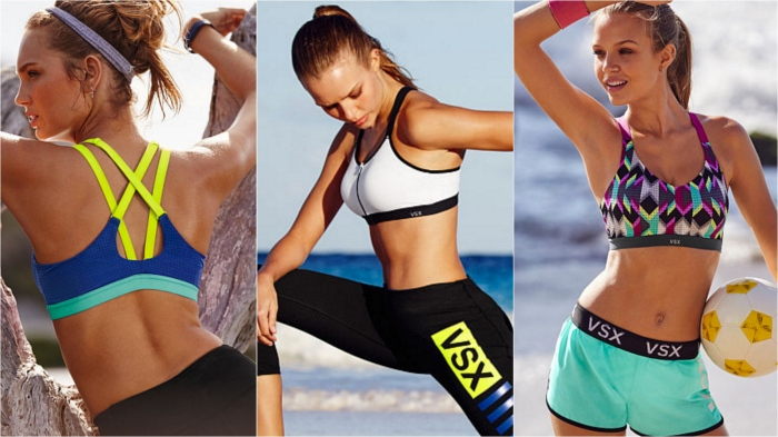 Millennials now want comfort as well as style and support. In the athleisure age that means sports bras like these from Victoria's Secret