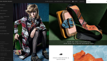 Burberry website July 2016