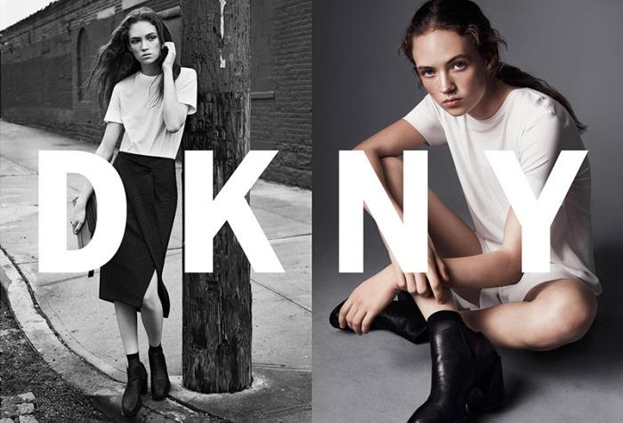 DKNY advertising SS16