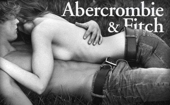 Abercrombie and fitch sex advertisements