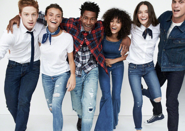 Abercrombie & Fitch AW16 collection and advertising