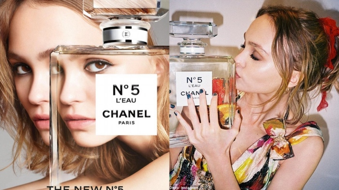 Lily-Rose Depp for Chanel No 5 L'Eau