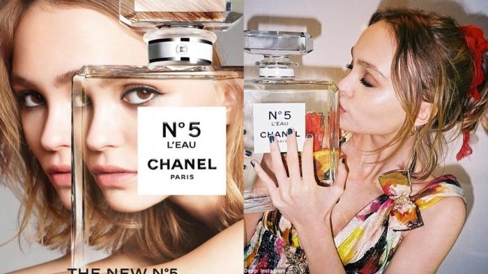 Lily-Rose Depp for Chanel No 5 L'Eau