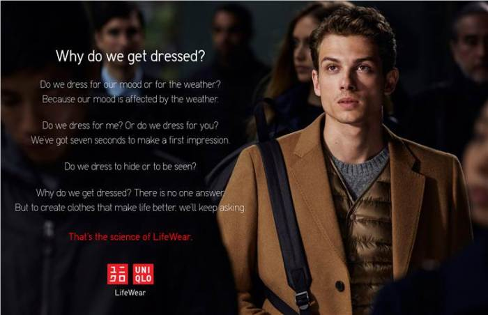 Uniqlo Lifewear AW16