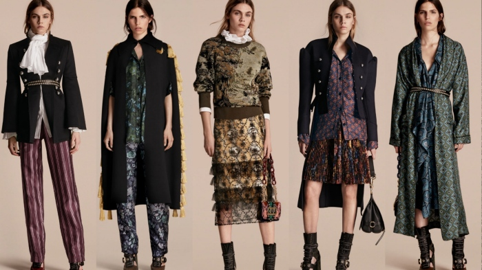 Burberry September 2016 collection