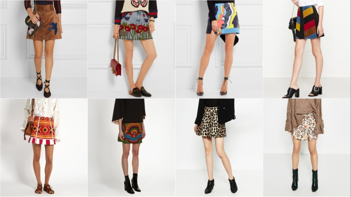 Red Valentino at Net-a-Porter, Gucci at Net-a-Porter, Versace at Net-a-Porter, Mih at Very Exclusive, Vita Kin at Matches, Valentino at Matches, Zara, Zara AW16