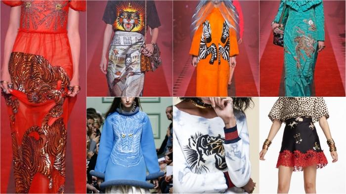 Gucci, Gucci, Gucci, JW Anderson, Pam & Gela, Cynthia Rowley SS17