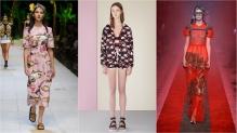 Dolce & Gabbana, Red Valentino, Gucci SS17