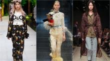 Dolce & Gabbana, Prada, Burberry