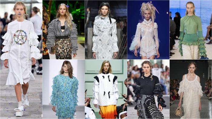 Preen, Dolce & Gabbana, Erdem, Marc Jacobs, Loewe, Michael Kors, JW Anderson, Preen, No 21 SS17