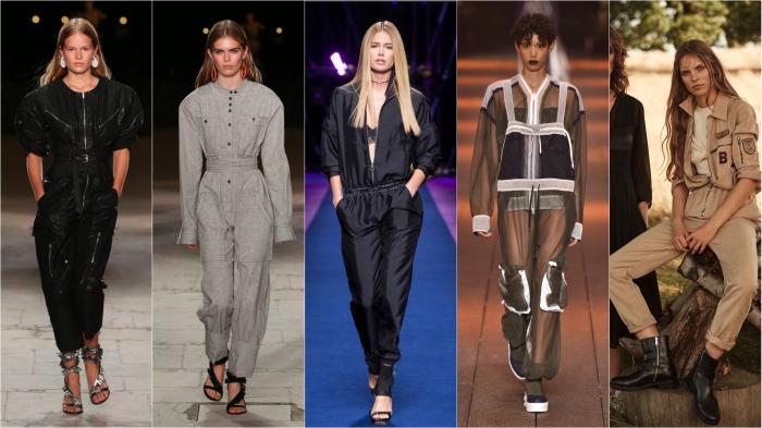 Isabel Marant, Isabel Marant, Versace, DKNY, Belstaff SS17