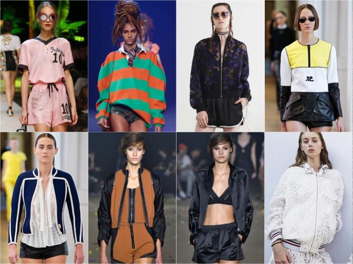Dolce & Gabbana, Marc Jacobs, Markus Lupfer, Courreges, Courreges, 3.1 Phillip Lim, 3.1 Phillip Lim, Moncler Gamme Rouge SS17