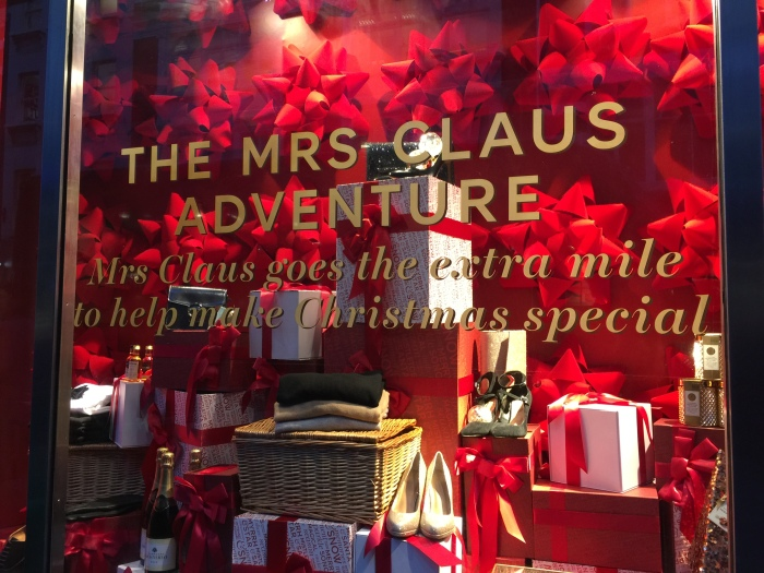 Christmas Shopping 2016 M&S