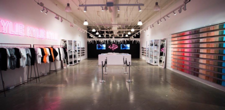 Kylie Jenner pop-up store