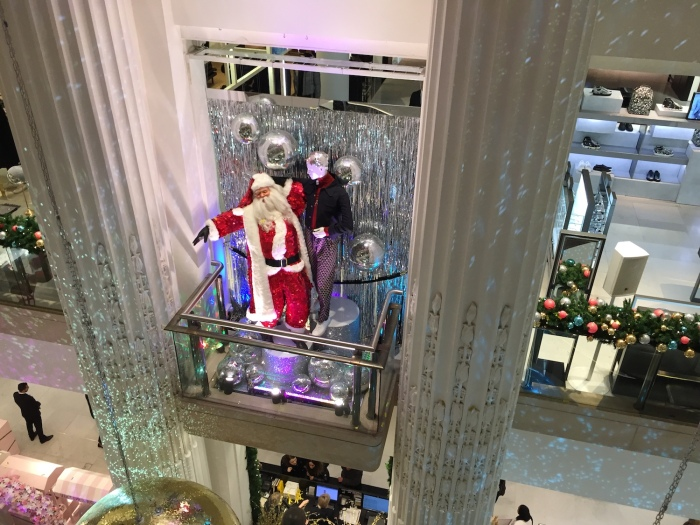 Christmas Shopping 2016 Selfridges Santa
